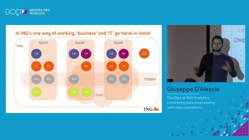 DATA MINER: Giuseppe D'Alessio - DevOps at ING Analytics: combining data engineering with data opera