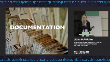 DATA MINER: Lilia Sapurina - Development of automated test system from scratch