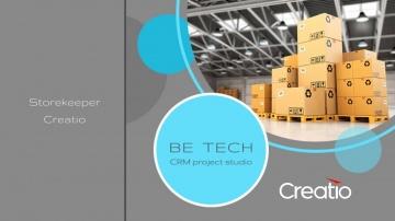 Be Tech: Склад Creatio - CRM для управления товарооборотом в компании - видео
