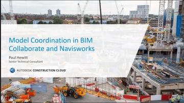 BIM: Model Coordination in BIM Collaborate and Navisworks - видео