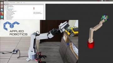 Разработка iot: Манипуляционные роботы на базе сервоприводов Dynamixel - видео