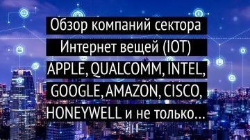 Разработка iot: Большой обзор компаний сектора интернет вещей IOT - видео