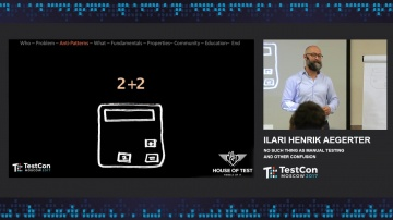 DATA MINER: Ilari Henrik Aegerter - No Such Thing as Manual Testing and Other Confusions