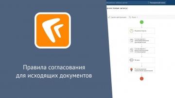 Directum: Directum RX. Правила согласования для исходящих документов (веб-клиент)