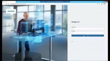 SCADA: Демонстрация DESIGO CC 4.2 - SIEMENS BMS (SCADA) - видео