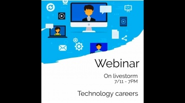 Weydu webinar 3: Technology careers replay 2020 11 07 - video