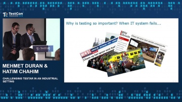 DATA MINER: Mehmet Duran & Hatim Chahim - Challenging TESTAR in an industrial setting