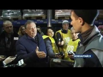ConsID: Александр Карлин посетил распределительный центр компании МАРИЯ-РА