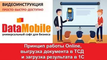 СКАНПОРТ: DataMobile: Урок №9. Принцип работы Online обмена DataMobile