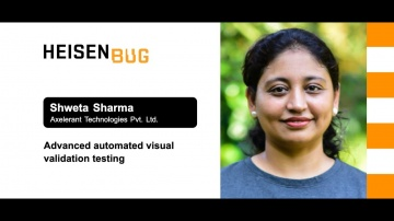 Heisenbug: Shweta Sharma — Advanced automated visual validation testing - видео