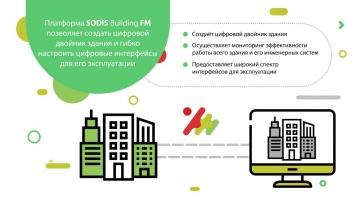 SODIS Lab: Платформа SODIS BUILDING FM: цифровой двойник и эффективная эксплуатация зданий - видео