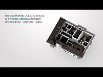 Layta: D-Link DCS-931L - IP-камера видеонаблюдения миниатюрная беспроводная