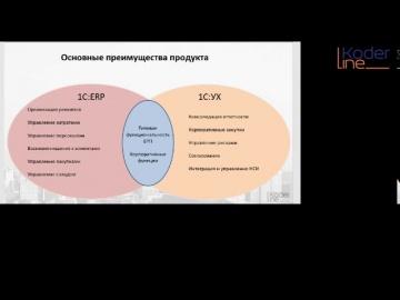 Разработка 1С: Ролик «Сравнение возможностей 1С:ERP и 1С:УХ» - видео