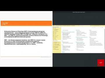 Кодерлайн: Вебинар «1С:ERP 2.5 – реализация RP концепций» - видео