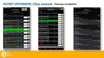 Мобильные решения для сбора заказов