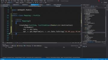 C#: Dependency Injection - это просто. Маппинг данных - видео