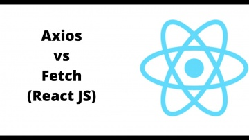C#: Axios vs Fetch in React JS - видео
