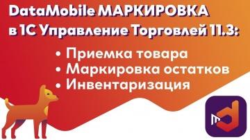 СКАНПОРТ: DataMobile Маркировка в 1С: Управление Торговлей 11.3