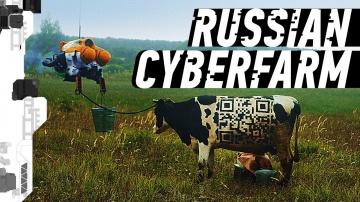 Rissian cyberpunk farm: Русская кибердеревня - видео