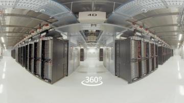 Yandex.Cloud: Yandex data center 360° tour - видео