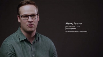 voximplant: Alexey Aylarov about Voximplant