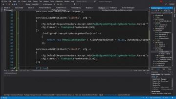 C#: Dependency Injection - это просто. Внедрение классов, именованные HttpClient. - видео