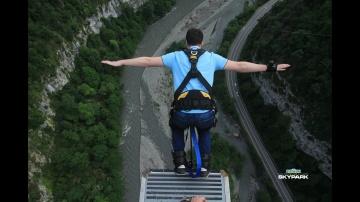 1С:Пирог: Прыжок на Банжи - 207 метров (Сочи)