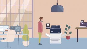 TerraLink: Система управления печатью OneQ - видео