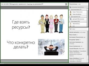 12N - Внедрение сервисного подхода за рамками ИТ (обзор)