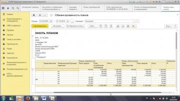 """ВЦ «Раздолье»: Планирование 4 Планы закупок в """"1С:ERP Управление предприятием 2"""""""