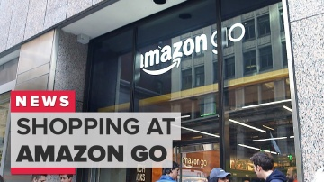CNET: Shopping at Amazon Go in San Francisco
