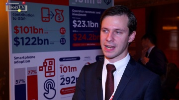 JsonTV: GSMA Mobile 360 – Евразия — Таир Исмаилов, Ассоциация GSM (GSMA)