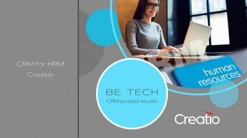 Be Tech: HRM Creatio - CRM система для автоматизации рекрутинга - Be Tech - видео