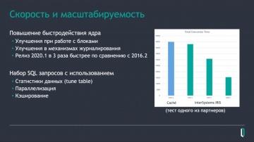"""Вебинар """"Что нового в InterSystems IRIS 2020.1."""""""