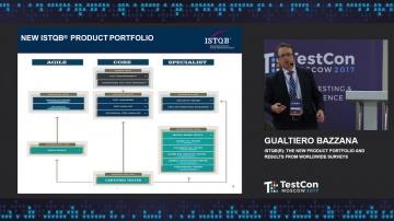 DATA MINER: Gualtiero Bazzana - ISTQB(r): the New Product Portfolio and Results from Worldwide Surve