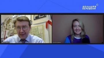 RUSSOFT: Валентин Макаров на 'Большой перемене' Стрим от 20 ноября 2020 - видео