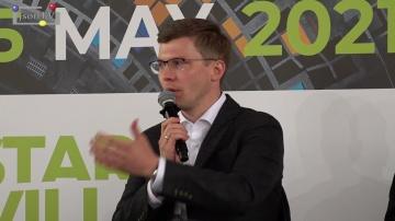 JsonTV: МТС - работа с инновациями - Дмитрий Курин, МТС. Startup Village 2021