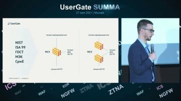 АСУ ТП: Элементы UserGate SUMMA: UserGate АСУ ТП - видео