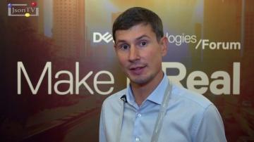 JsonTV: Dell Technologies Forum. Сергей Гусаров: Наибольший интерес вызвала Smart Fabric