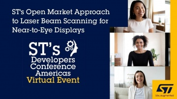 DLP: DevCon 2020 Presentation: ST's Open Market Approach to Laser Beam Scanning for Near-to-Eye Disp