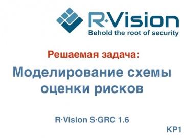 Кейс: моделирование схемы оценки рисков в R-Vision SGRC 1.6
