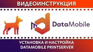 СКАНПОРТ: DataMobile: Урок № 26. Установка и настройка Datamobile PrintServer