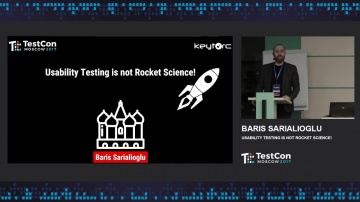 DATA MINER: Baris Sarialioglu - Usability Testing is not Rocket Science!