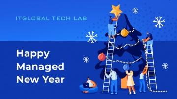 ITGLOBAL: TECH LAB Happy Managed New Year - видео