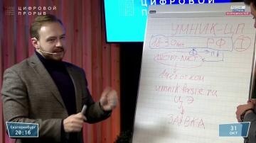 Цифровой прорыв: Разработка карты получения гранта «УМНИК - Цифровой прорыв». Виталий Кисилев - виде