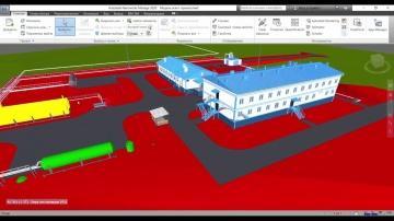 BIM: BIM-модель в Revit поднятие на основе 2D-чертежей - видео