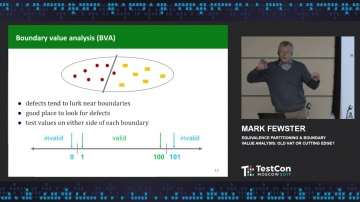 DATA MINER: Mark Fewster - Equivalence Partitioning & Boundary Value Analysis: Old Hat or Cutting Ed