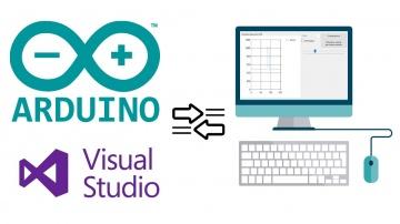 C#: Пишем программу для связи Arduino с компьютером от А до В - видео