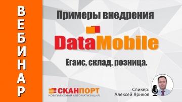 СКАНПОРТ: Примеры внедрения DataMobile: ЕГАИС, склад, розница.