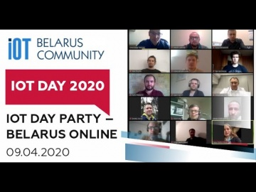 Разработка iot: IoT Day Party – Belarus Online - видео